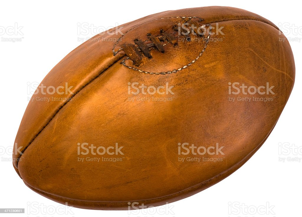 leather football royalty-free stock photo