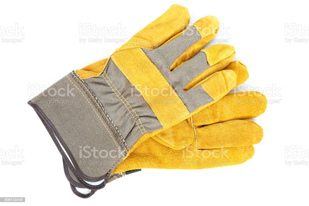Leather gloves royalty-free stock photo