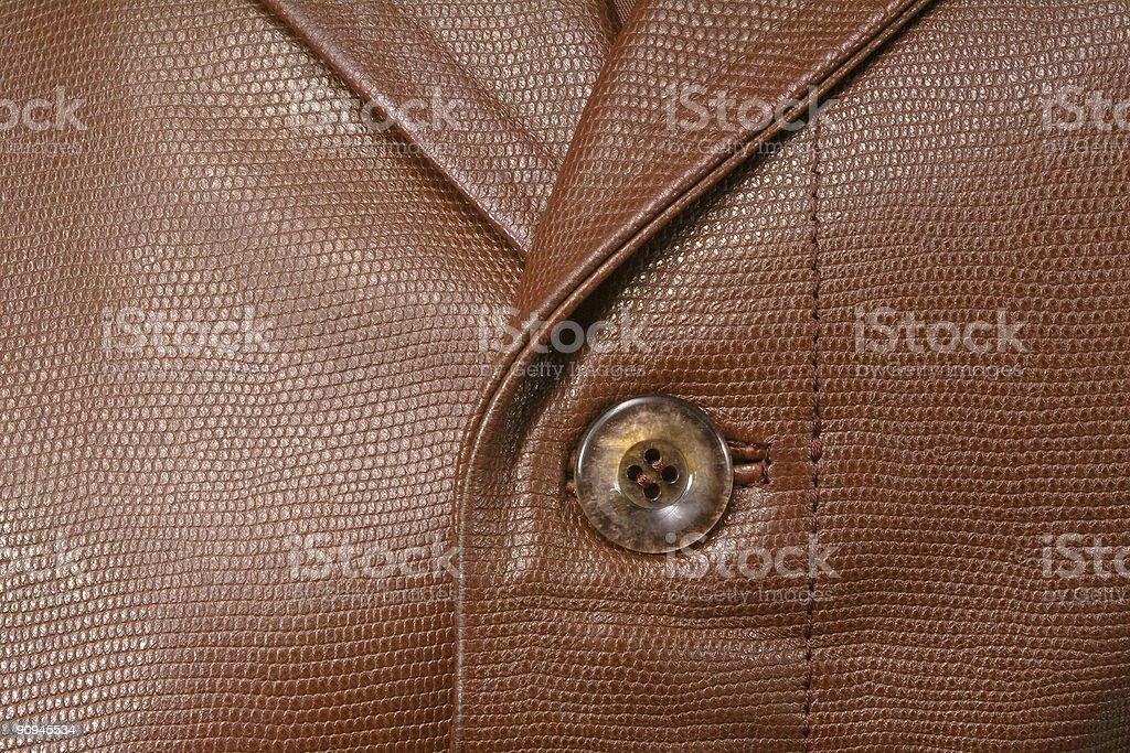 Leather jacket royalty-free stock photo