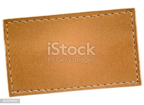 istock Leather Label 523359001