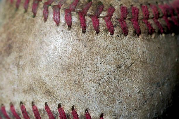 Leder baseball – Foto