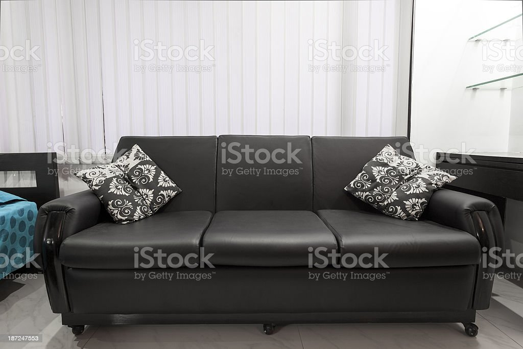 Leather Sofa royalty-free stock photo