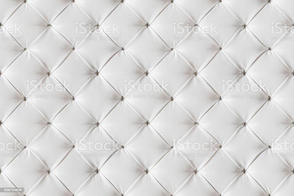mattress pattern. Leather Sofa Texture Seamless Background, White Leathers Upholstery Pattern  Stock Photo Mattress Pattern I