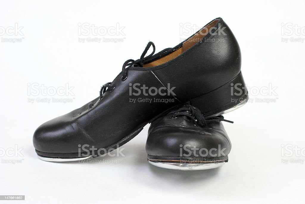 Leather Tap Shoes stock photo
