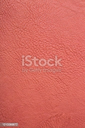 istock Leather texture. Close up vintage of leather notebook 1010065672