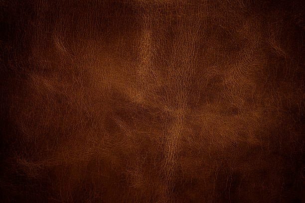 Leather texture closeup Leather texture closeup brown stock pictures, royalty-free photos & images