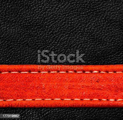 istock Leather texture 177319882