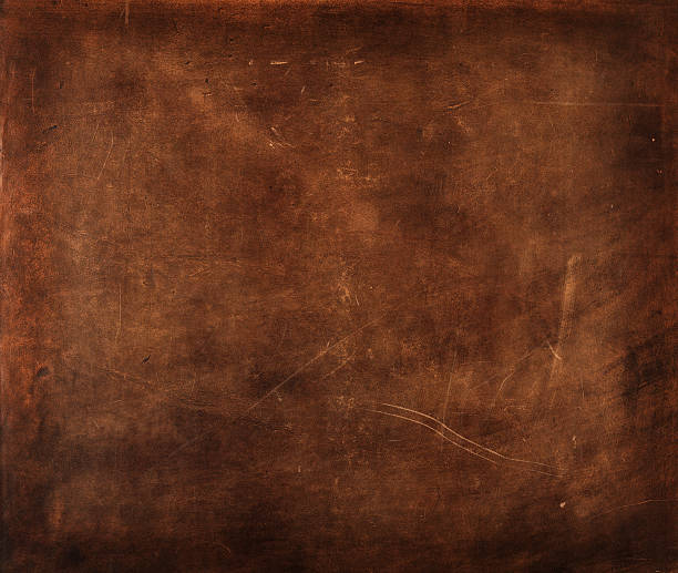 Leather texture piece of brown leather detail cowhide stock pictures, royalty-free photos & images