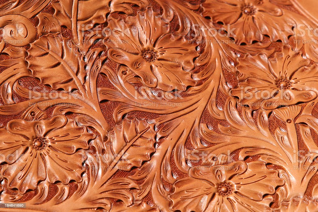 Leather Tooling royalty-free stock photo