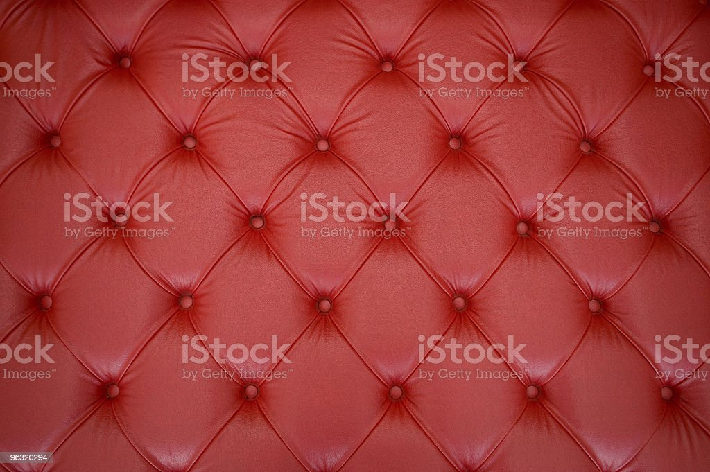 Leather upholstery stock photo