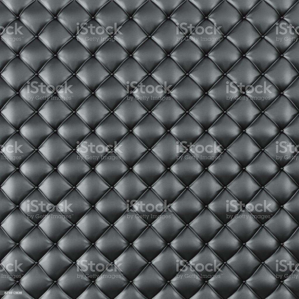 Leather Upholstery Sofa Background Black Luxury Decoration Sofa