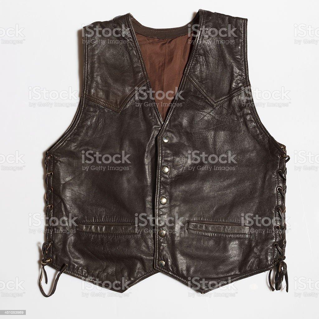 leather vest royalty-free stock photo