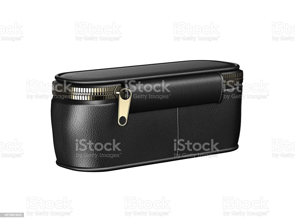 leather wallet stock photo