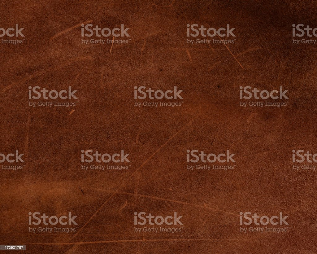 leather with slight distress marks royalty-free stock photo