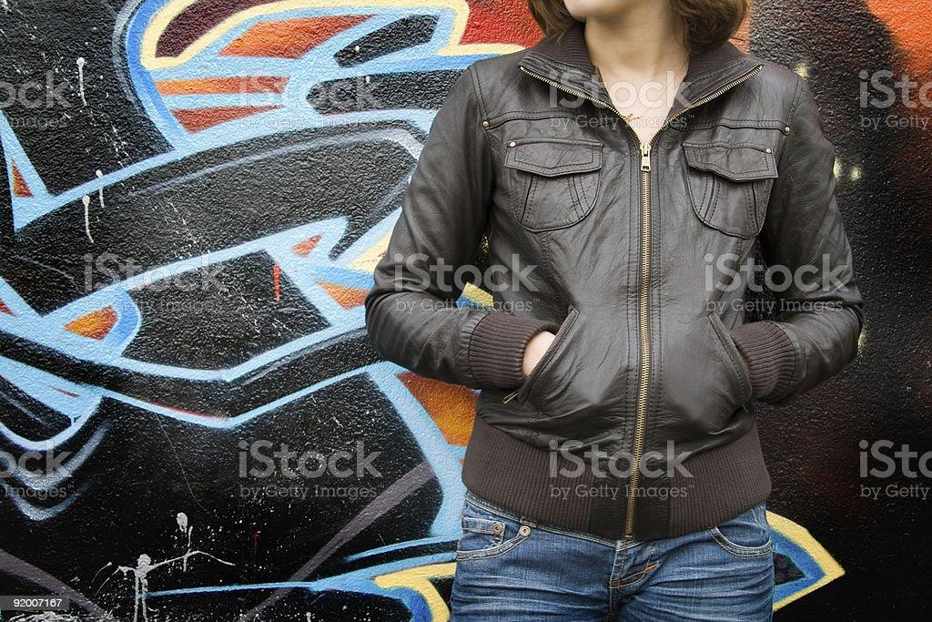 best website d6717 7fe5f Lederfrau Stockfoto und mehr Bilder von Anziehen - iStock
