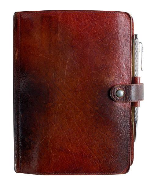 Leder-bound Tagebuch – Foto