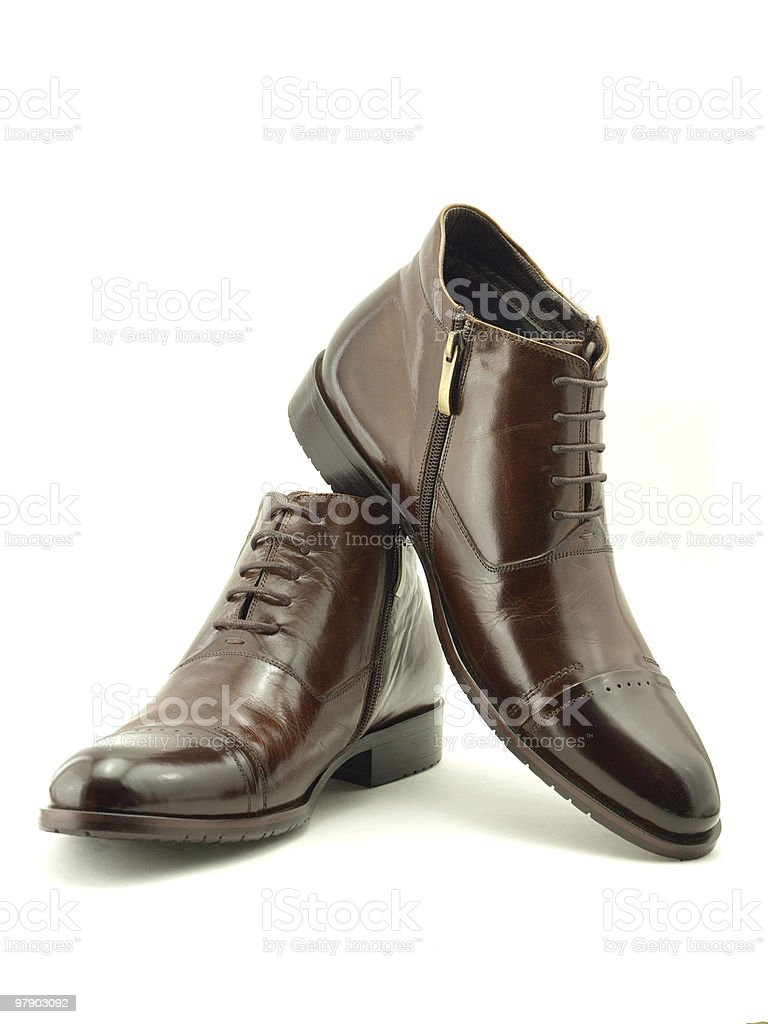 Leathers shoes royalty-free stock photo