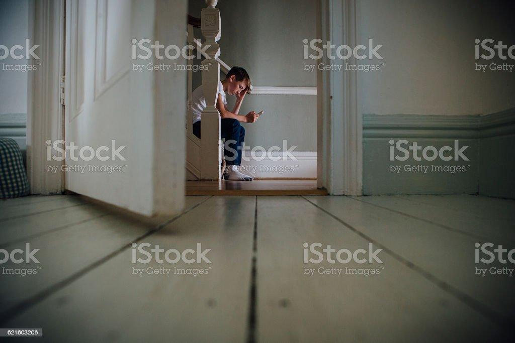 Leave me Alone stock photo
