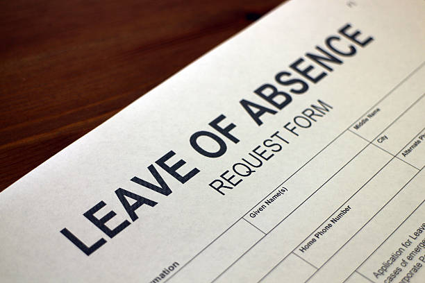 leave of absence request form - loa - paid stock pictures, royalty-free photos & images