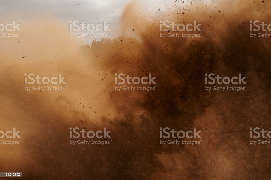 Leave the competition in the dust stock photo