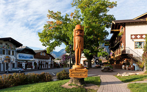 Leavenworth in Autumn - foto stock