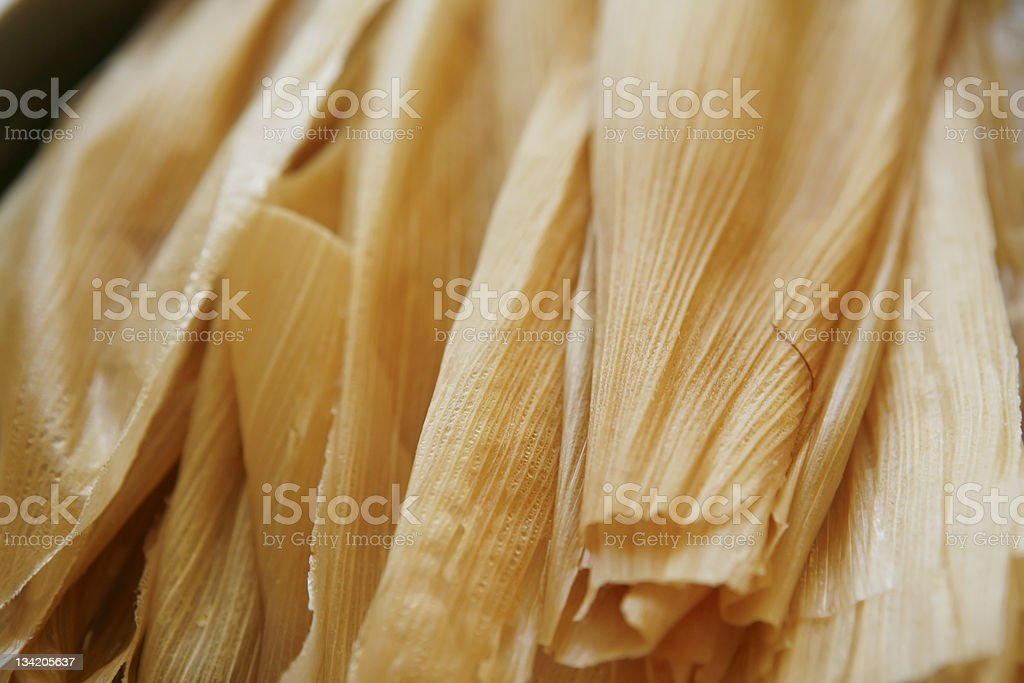 Hojas for Tamales royalty-free stock photo