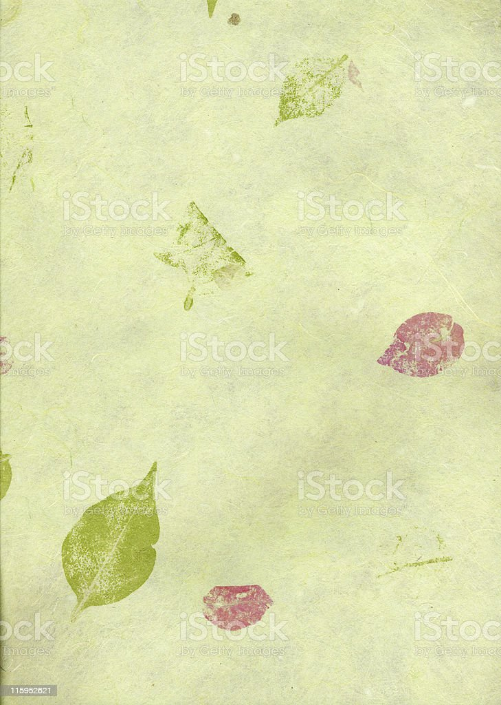 leaves paper royalty-free stock photo