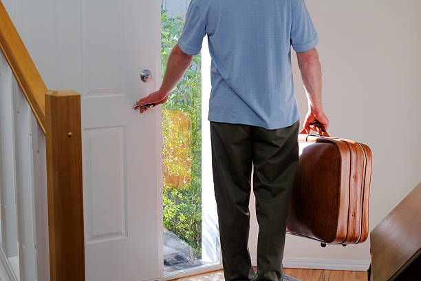 leaving home - leaving stock photos and pictures