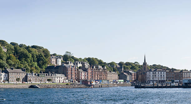 Leaving Rothesay stock photo
