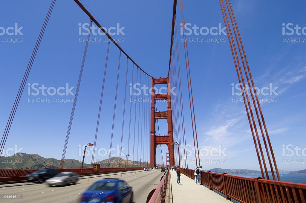 Leaving San Francisco royalty-free stock photo