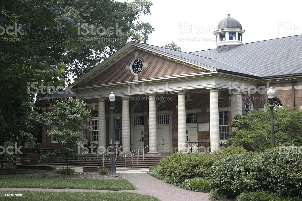 Leazar Hall - North Carolina State University stock photo