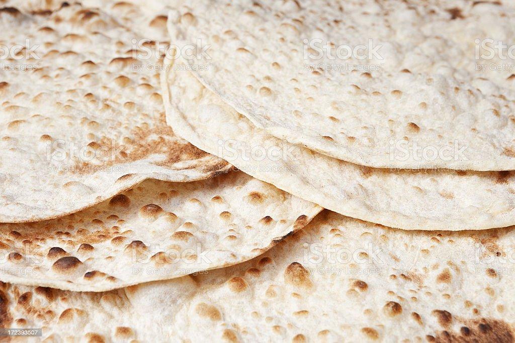 Lebanese Flat Bread royalty-free stock photo