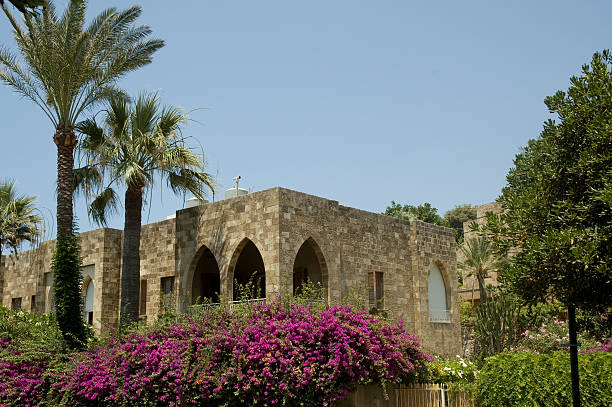 lebanese house - alintal stock pictures, royalty-free photos & images
