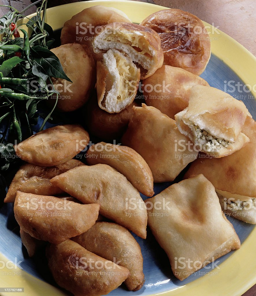 Lebanese Pies royalty-free stock photo