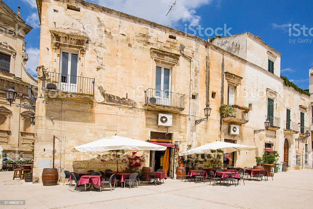 Lecce centre stock photo