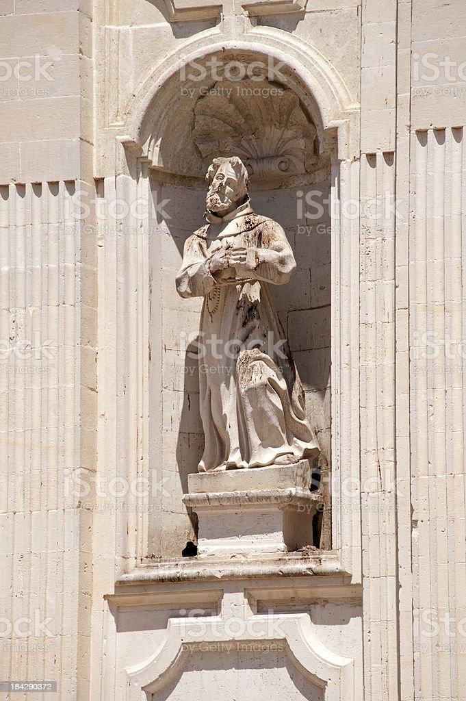 Lecce,  Chiesa Santa Maria della Provvidenza. royalty-free stock photo
