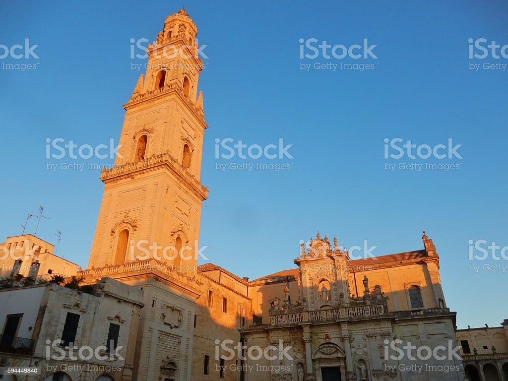 Lecce - Duomo stock photo