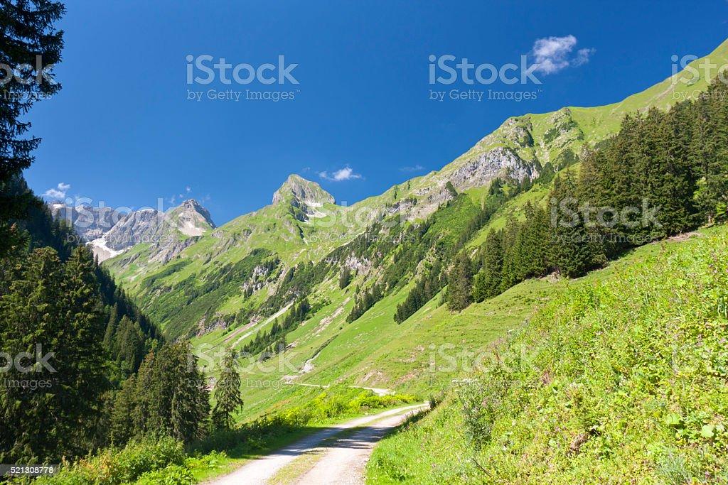 Lechtal Alps, Austria stock photo