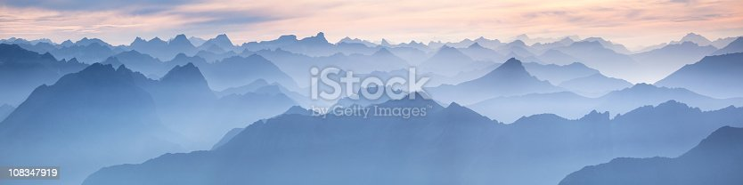 istock lechtal panorama from mt. zugspitze - germany 108347919