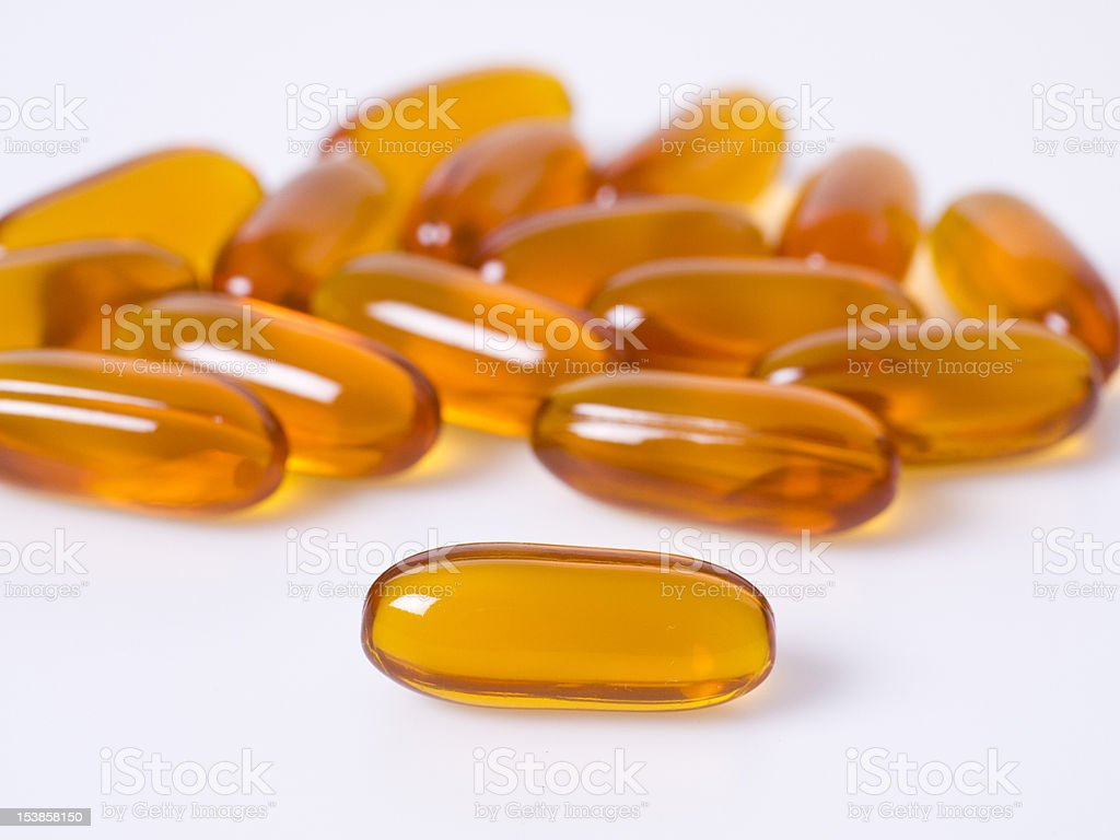 Lecithin royalty-free stock photo