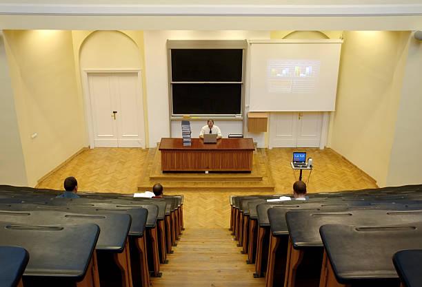 Vortrag am university – Foto
