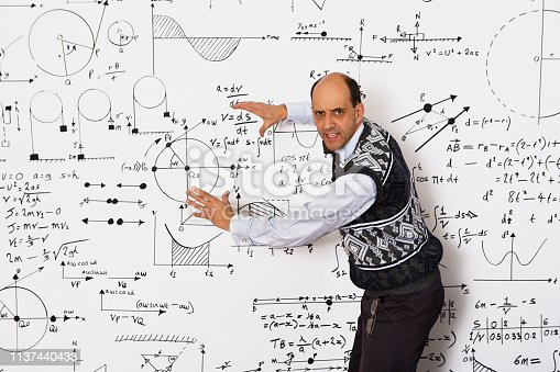 istock A lecturing mathmetician 1137440433