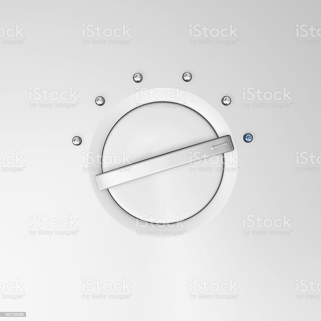 Led Dial royalty-free stock photo