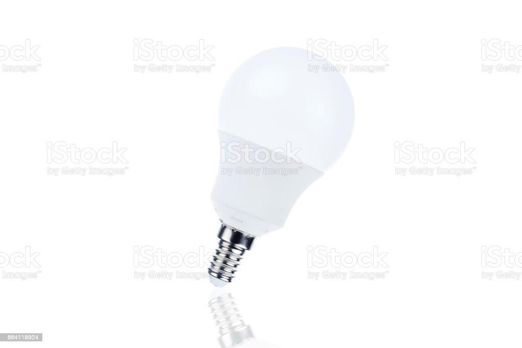 Led light bulb isolated royalty-free stock photo