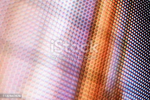 890716958 istock photo Led light panel background 1132842826