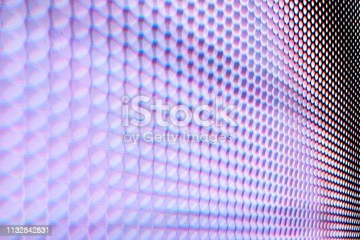 890716958 istock photo Led light panel background 1132842831