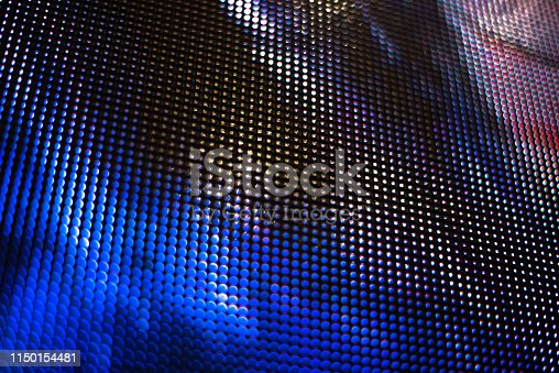 890716958 istock photo Led light panel background 1150154481