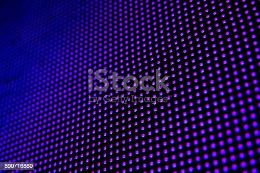 890716958 istock photo Led light panel background 890716860