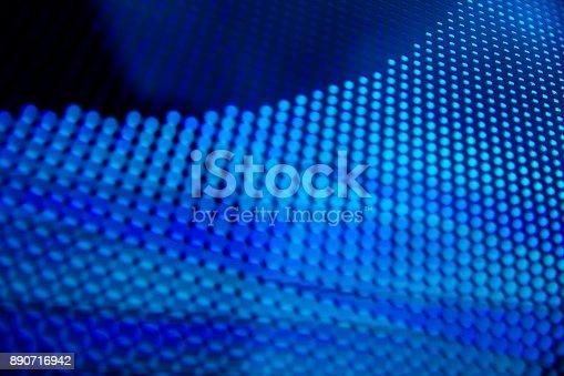890716958 istock photo Led light panel background 890716942