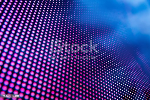 istock Led light panel background 890716958